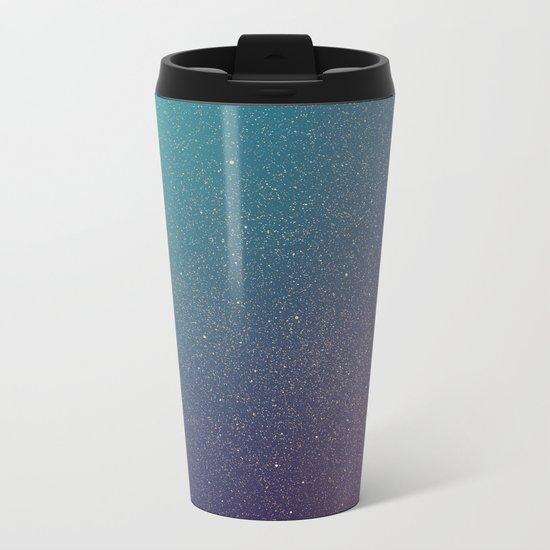 Space 01 Metal Travel Mug