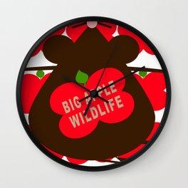 big appple wildlife Wall Clock
