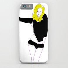 Blonde hair girl iPhone 6s Slim Case