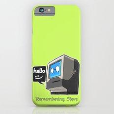 Remembering Steve Slim Case iPhone 6s