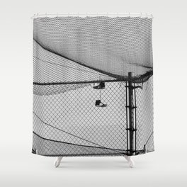 Hanging Sneakers Shower Curtain