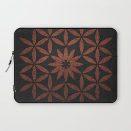 The Flower of Life - Ancient copper Laptop Sleeve