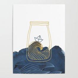 Bottled Sea Poster