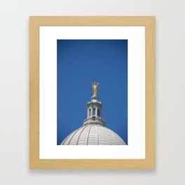Golden Dome Framed Art Print