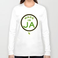 jamaica Long Sleeve T-shirts featuring Made in Jamaica by DCMBR - December Creative Group