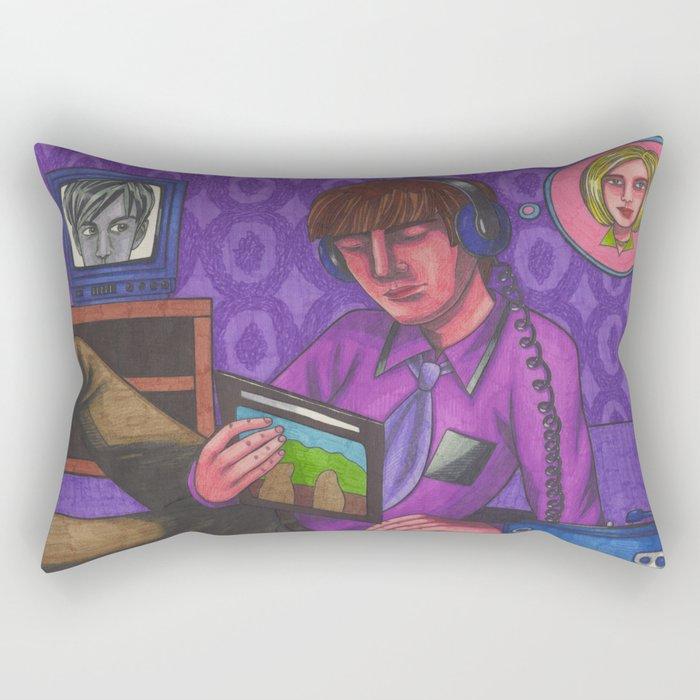Disco 2000 Rectangular Pillow