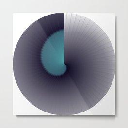 Light/Dark Cycle Metal Print