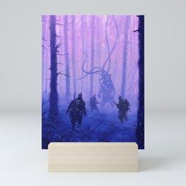 1920 - weird forest Mini Art Print