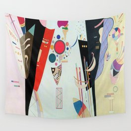 Wassily Kandinsky Reciprocal Accords Wall Tapestry
