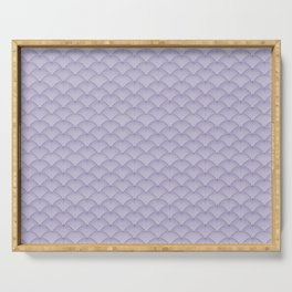 Japanese Dots Fade UltraViolet Serving Tray