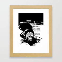 The Answer Framed Art Print