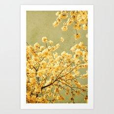 vintage spring Art Print