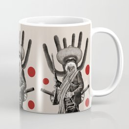 Anthropomorphic N°8 Coffee Mug