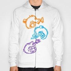 Crayon Love: Dragons Hoody