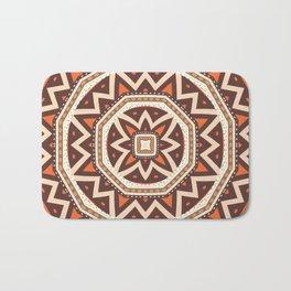 Mandalaic tiling Bath Mat