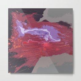 Energy Flow by FreddiJr Metal Print