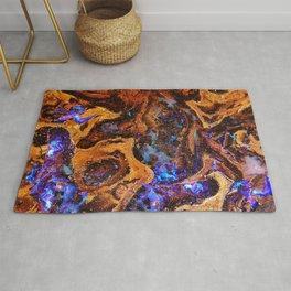 Boulder Opal Abstract Rug