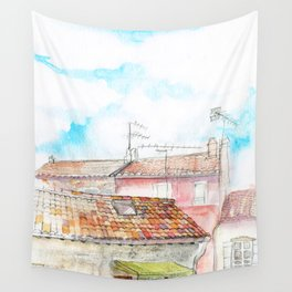 Skylight To A Playground Wall Tapestry