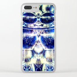 THROUGH THE LOOKING GLASS Clear iPhone Case