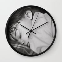 cookie Wall Clocks featuring Cookie by Cherise Josephine