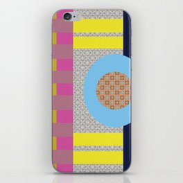 Mix n Match with Circle iPhone Skin