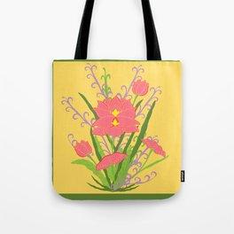Indian Lotus Tote Bag