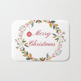 Merry Christmas Bath Mat