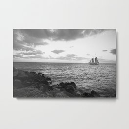 Southernmost Sunset Metal Print