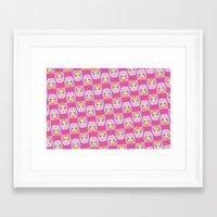 jem Framed Art Prints featuring jem by guizmo04