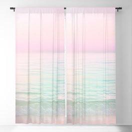 Dreamy Pastel Seascape #buyart #pastelvibes #Society6 Blackout Curtain