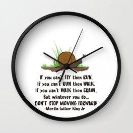 SNAIL MOTION Wall Clock