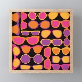 Summer Sunglasses Framed Mini Art Print