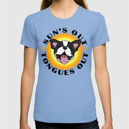 Sun's out - Tongues out (Boston Terrier) T-shirt
