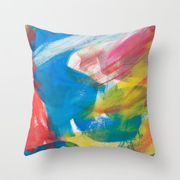 Abstract Artwork Colourful #4 Throw Pillow