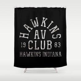 Hawkins AV Club Shower Curtain