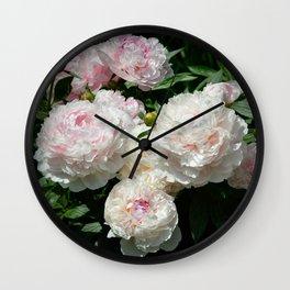 Peony Bunch by Teresa Thompson Wall Clock