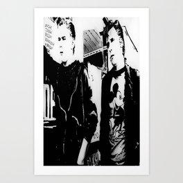 Ponyboy/Two-Bit Art Print
