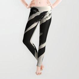 abstract drawing Leggings