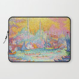 "Paul Signac ""La Corne d'Or - Constantinople"" Laptop Sleeve"