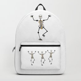 Skeleton Roro Tooth Gold Backpack