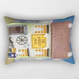 Barley Mow House Rectangular Pillow