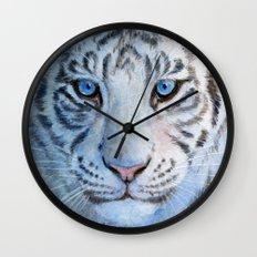 White Tiger Cub 852 Wall Clock