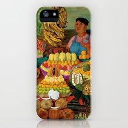 Las vendedoras de frutas by O. Costa iPhone Case
