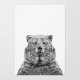 Bear European Canvas Print