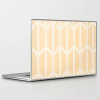 honeycomb Laptop & iPad Skins featuring Honeycomb by madelyn bilsborough