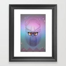My deer Geek Framed Art Print