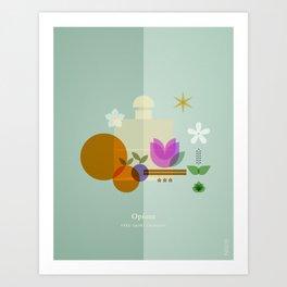 FRAGRANCES / Opium - YSL Art Print