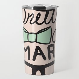 Pretty Smart Mint Travel Mug