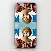madonna iPhone & iPod Skins featuring Madonna by DIVIDUS