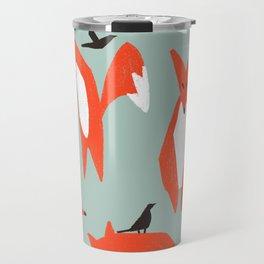 lying fox Travel Mug